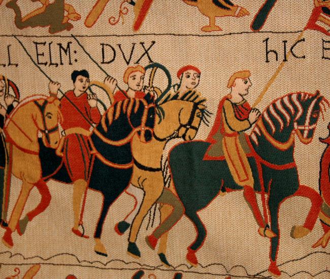 Alentours 16 - La tapisserie de Bayeux