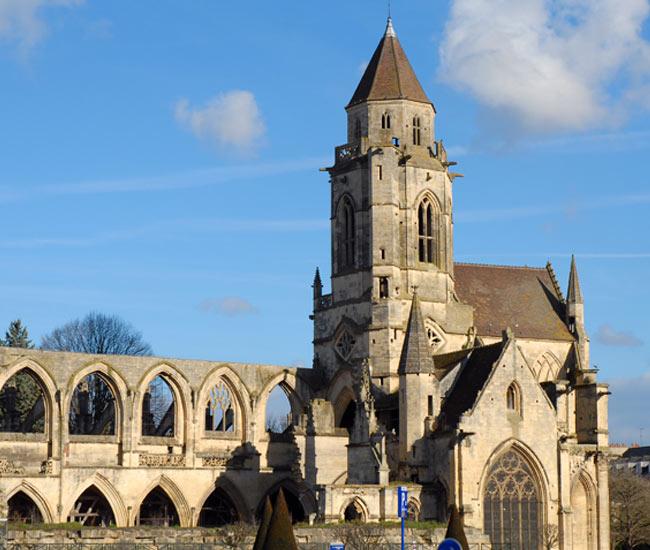 Alentours 24 - Les églises de Caen