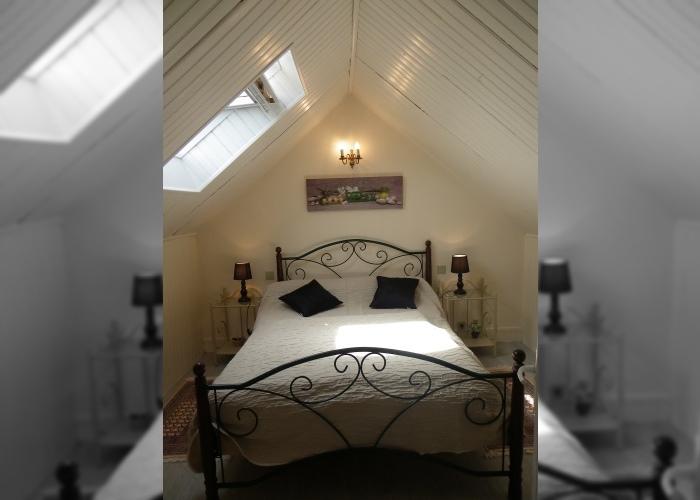 Gîte le Fournil 01 - Chambre avec lit double