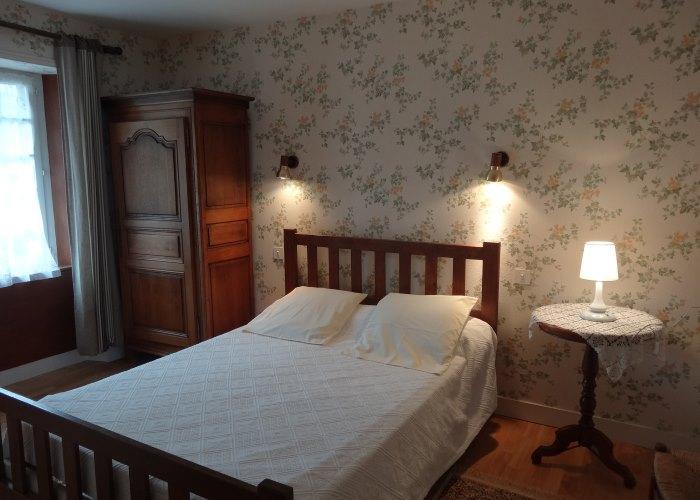 Gîte le Fuchsia 07 - Chambre avec lit double