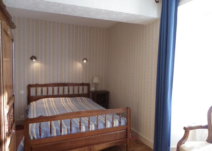 Gîte le Saule 05 - Deuxième chambre avec lit double