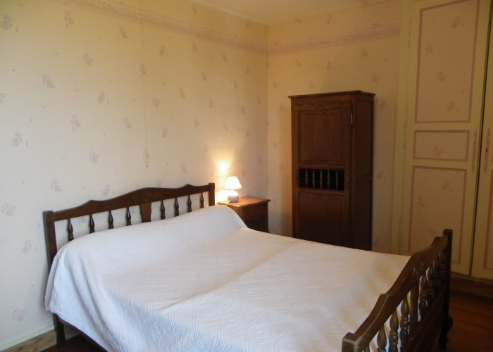 La Vennerie - Chambre avec lit double