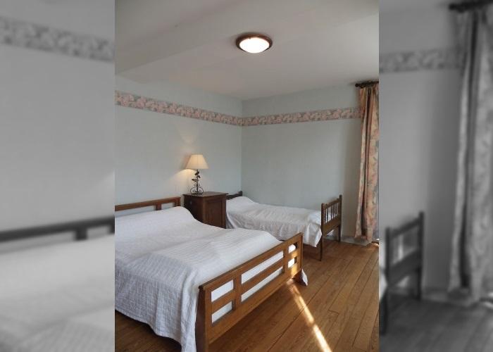 La Vennerie - Chambre avec lit double et lit simple