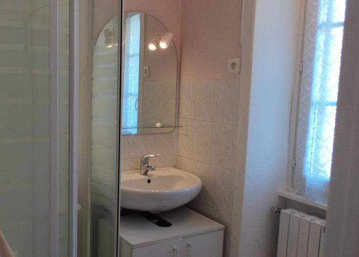 Le Bas du Vey - La salle de bain